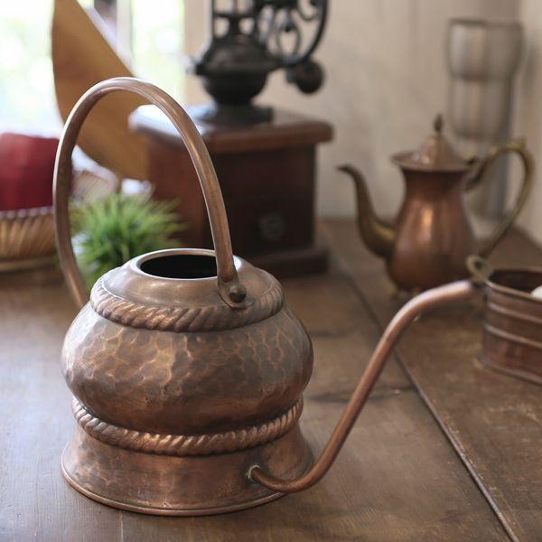 画像1: ドイツ 銅製 水差し/ジョウロ ユーズド品