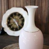 ノリタケ ダイヤモンドコレクション フラワーベース 花瓶 ピンク 未使用品(フ1781)