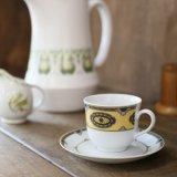 ドイツ BAVARIA ババリア コーヒーカップ&ソーサー 未使用品(店2560)