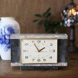 SEIKO 大理石の置き時計 ユーズド品