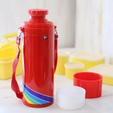 DIA ダイヤ魔法瓶 水筒 山本寛斎 レインボー 赤 B-751KR 未使用品(ひ2814)