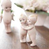 ビスクドール 陶器製キューピー人形 ツインズ アンティーク品