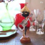 IDEAL アイデアル ギター栓抜き アイアイ人形 ボトルオープナー 南洋の美人 未使用品(オ4325)