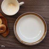 Seyei セーエー陶器 スープボウル 深皿 ブラウンライン 未使用品(せ4384)