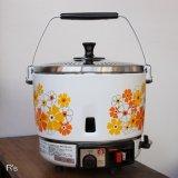 東邦ガス ガス炊飯器 レトロ 花柄 炊飯器 PCM-7A 未使用品 取扱説明書付き(棚4456)
