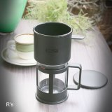 北欧 bodum ボダム 1カップ用 コーヒーメーカー K1791 未使用品 パッケージ付き(ハ5197)