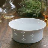 HAKUSAN 白山陶器 ほたる星華 透かし 18cmボウル 盛鉢 未使用品(メ5495)