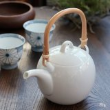 白山陶器 MAYU土瓶 白 未使用品(ネ5508)
