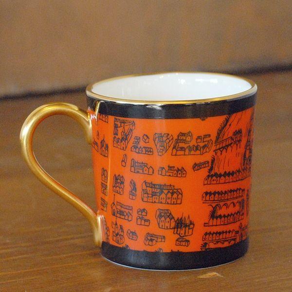 画像5: OKURA 大倉陶園 ART CHINA デミタスカップ&ソーサー マーチ 未使用品(フ661)