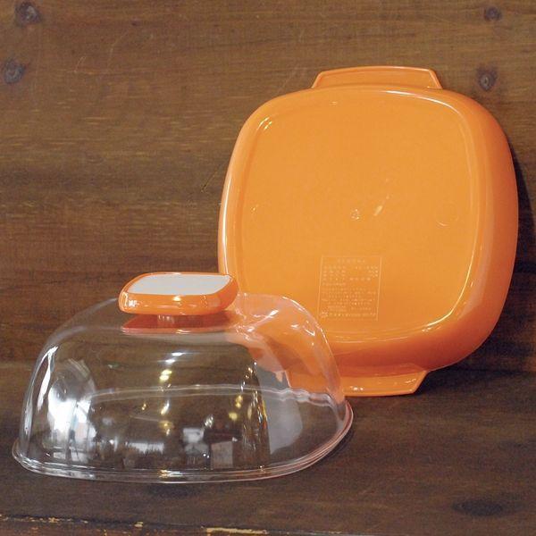 画像3: Y・K印ヨシカワ マスコットディッシュ大/プラスチックケース No.244 オレンジ デッドストック品