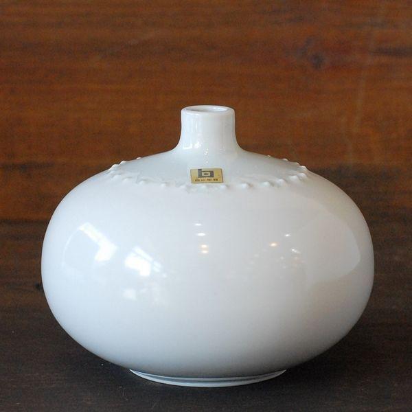 画像2: HAKUSAN 白山陶器 壺 一輪挿し 森正洋デザイン 未使用品(店756)