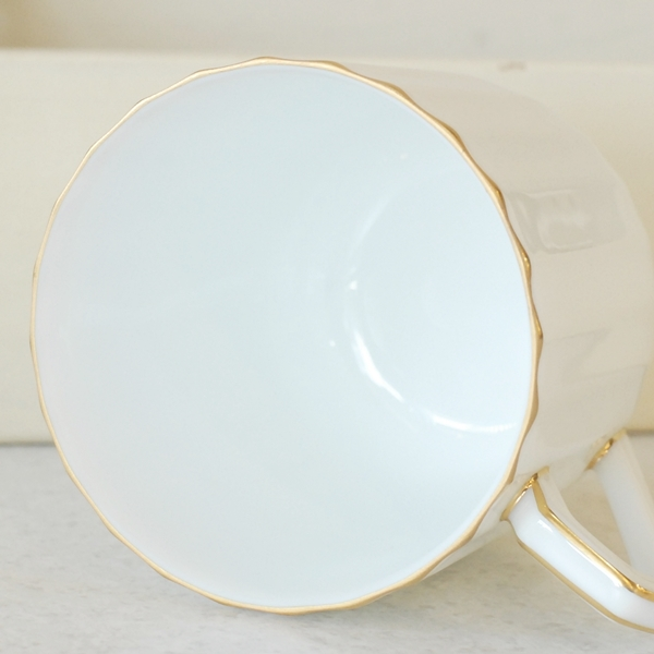 画像4: ノリタケ ダイヤモンドコレクション コーヒーカップ&ソーサー 未使用品(フ4く4 977)