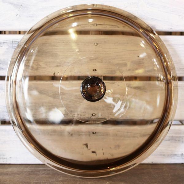 画像4: フランス VISION コーニング パイロセラム 脚付き卓上鍋 ガラス両手鍋 未使用品(も2006)