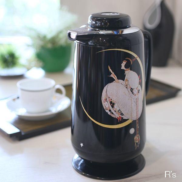 画像1: DIA ダイヤ魔法瓶 VOGUE MOON ヴォーグポット VHG-1000 未使用品(箱4 4202)