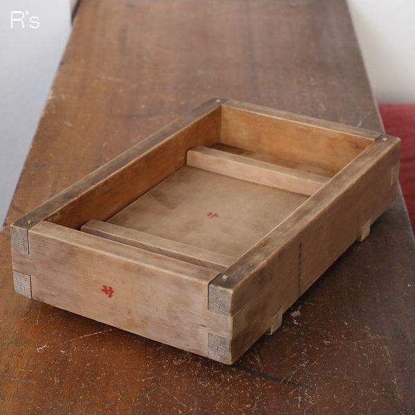 画像1: 押し寿司用の木型 アンティーク品(a4730)