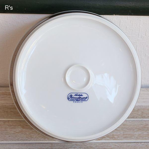 画像4: ノリタケ Primadura プリマデュラ パイ皿 20cm深皿 5005/3 未使用品(く5359)