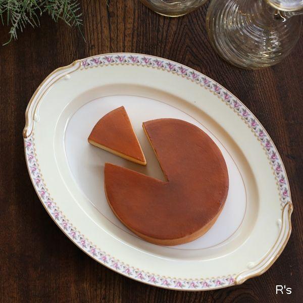 画像1: オールドノリタケ オーバルプレート 楕円の大皿 薔薇の柄 アンティーク品(よ5443)