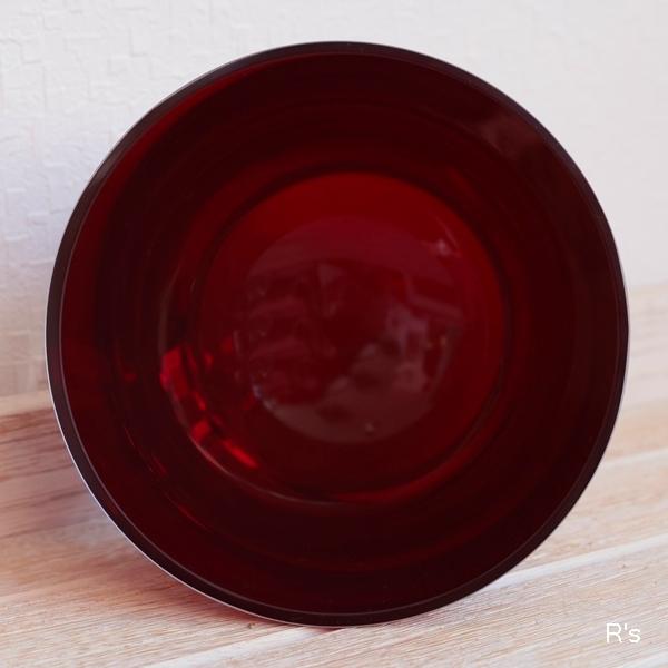 画像3: ドイツ ビレロイ&ボッホ カラーコンセプト ガラス キャンドルホルダー レッド 未使用品(P5587)