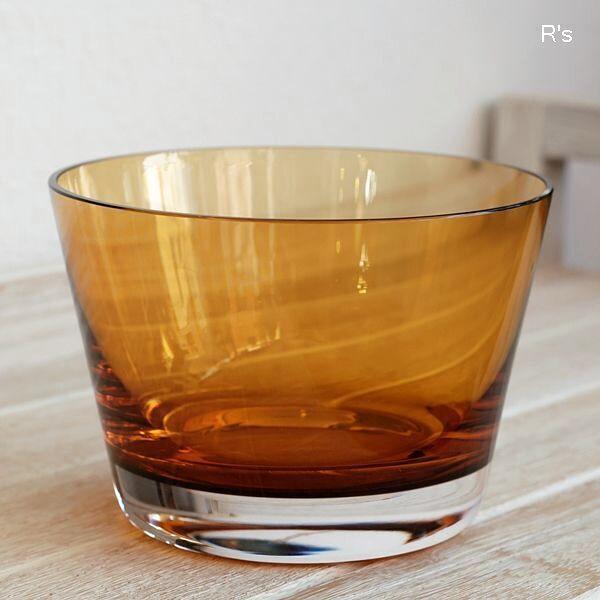 画像2: ドイツ ビレロイ&ボッホ カラーコンセプト ガラス キャンドルホルダー アンバー 未使用品(P5588)