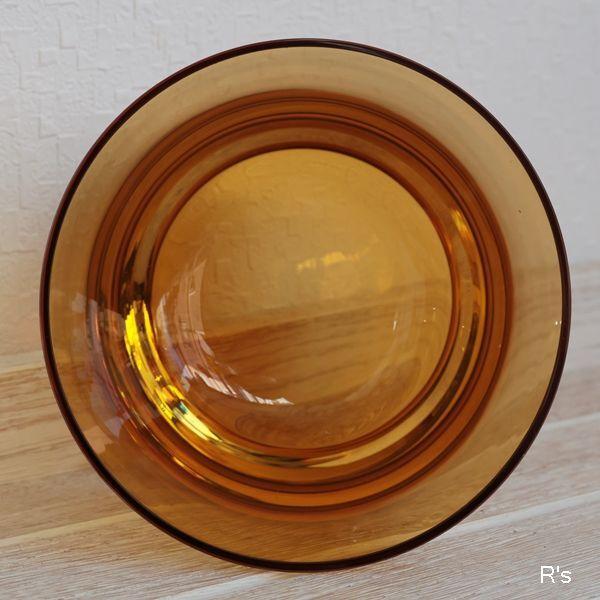 画像3: ドイツ ビレロイ&ボッホ カラーコンセプト ガラス キャンドルホルダー アンバー 未使用品(P5588)